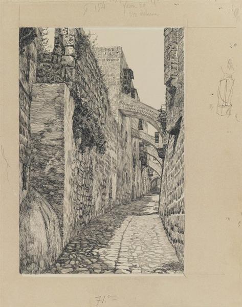 Via Dolorosa, 1886 - 1889 - James Tissot