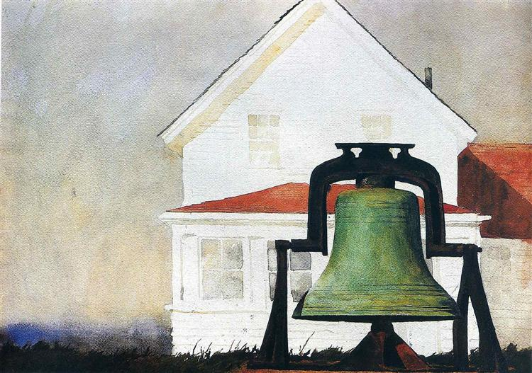 Monhegan Bell, 1978 - Джейми Уайет