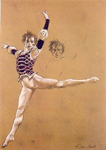 Rudolf Nureyev - Jamie Wyeth
