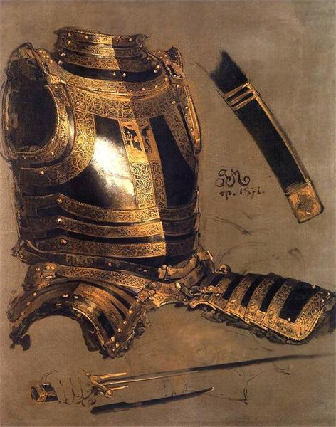 Armor of Stefan Batory, 1872 - Jan Matejko