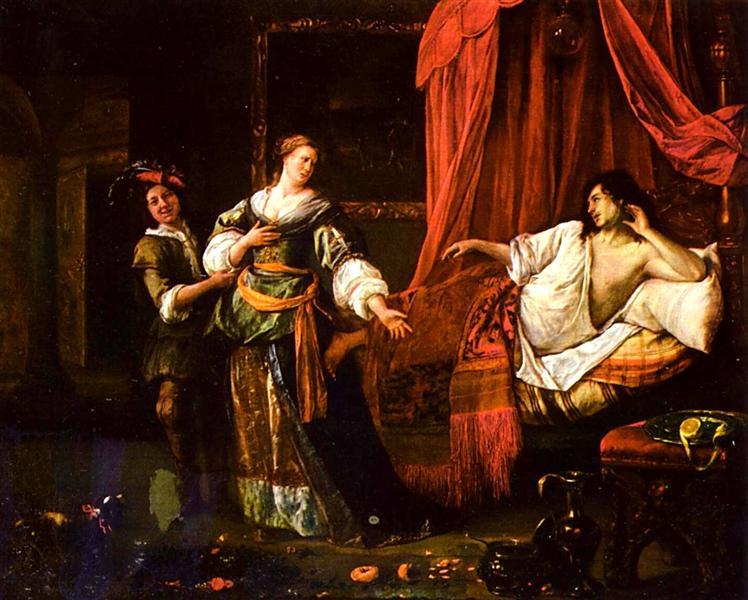 Amnon and Tamar, c.1661 - 1670 - Jan Steen