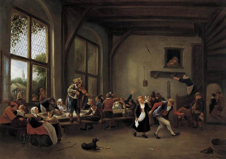 Country Wedding, 1662 - 1666 - Jan Steen