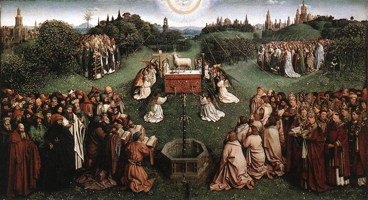 Adoration of the Lamb, 1432 - Jan van Eyck