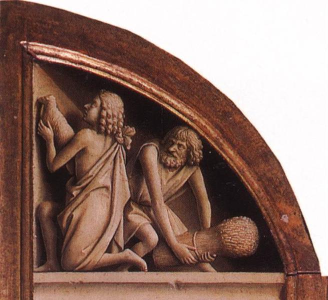 The Offerings of Cain and Abel, 1425 - 1429 - Jan van Eyck