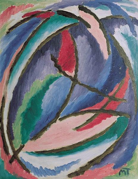 Composition, 1920 - Janos Mattis-Teutsch