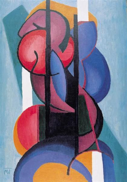 Composition, 1923 - Янош Маттіс-Теуч