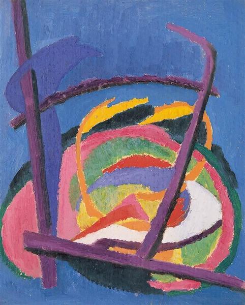 Composition, 1923 - Hans Mattis-Teutsch