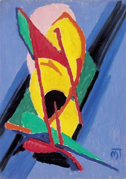 Composition, 1923 - Janos Mattis-Teutsch