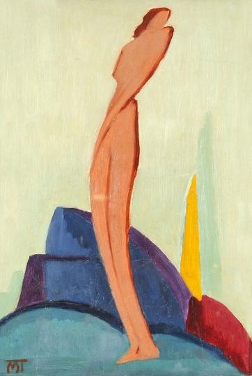 Figure in Landscape - Janos Mattis-Teutsch