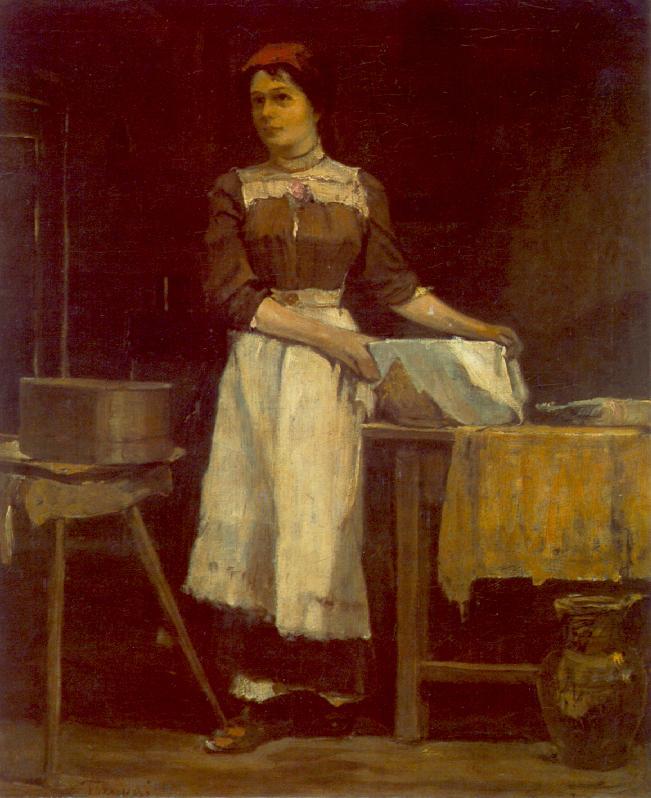 Bolting Girl, 1900