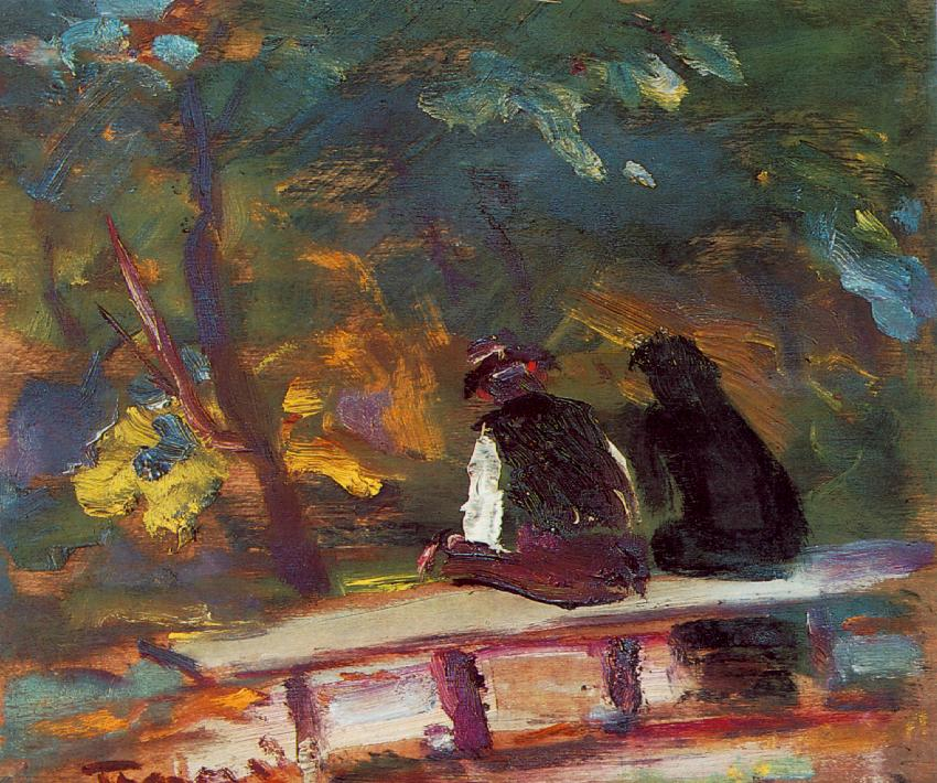 On the Bench, 1934