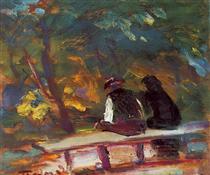 On the Bench - Janos Tornyai