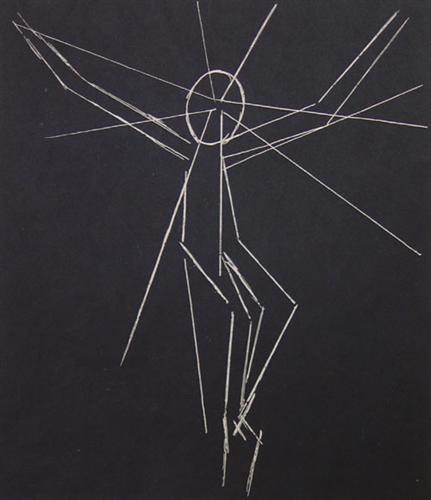 Christ on the Cross II - Jean Arp
