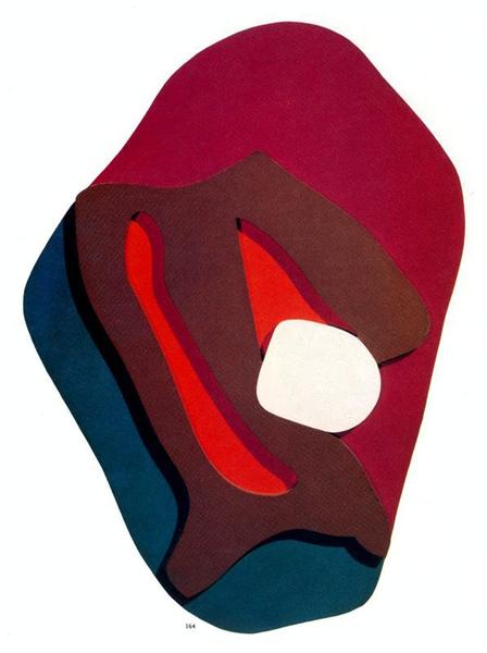 Enak's Tears. Terrestrial Forms - Hans Arp