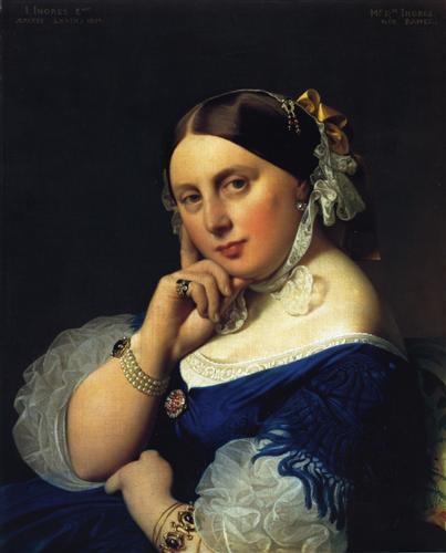 Delphine Ramel, Madame Ingres - Jean Auguste Dominique Ingres