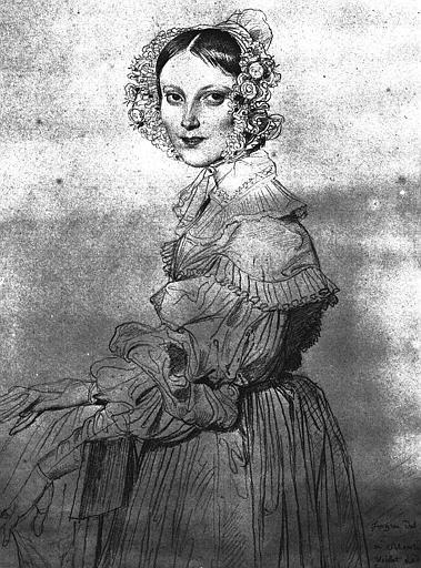 Madame Eugène Viollet le Duc, 1837 - Jean Auguste Dominique Ingres