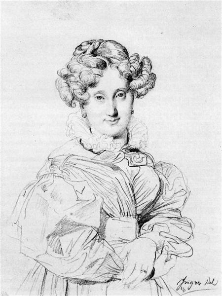 Madame Louis François Godinot, born Victoire Pauline Thiolliere de L'Isle - Jean Auguste Dominique Ingres