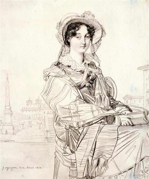 Mrs. Charles Badham, 1816 - Jean Auguste Dominique Ingres