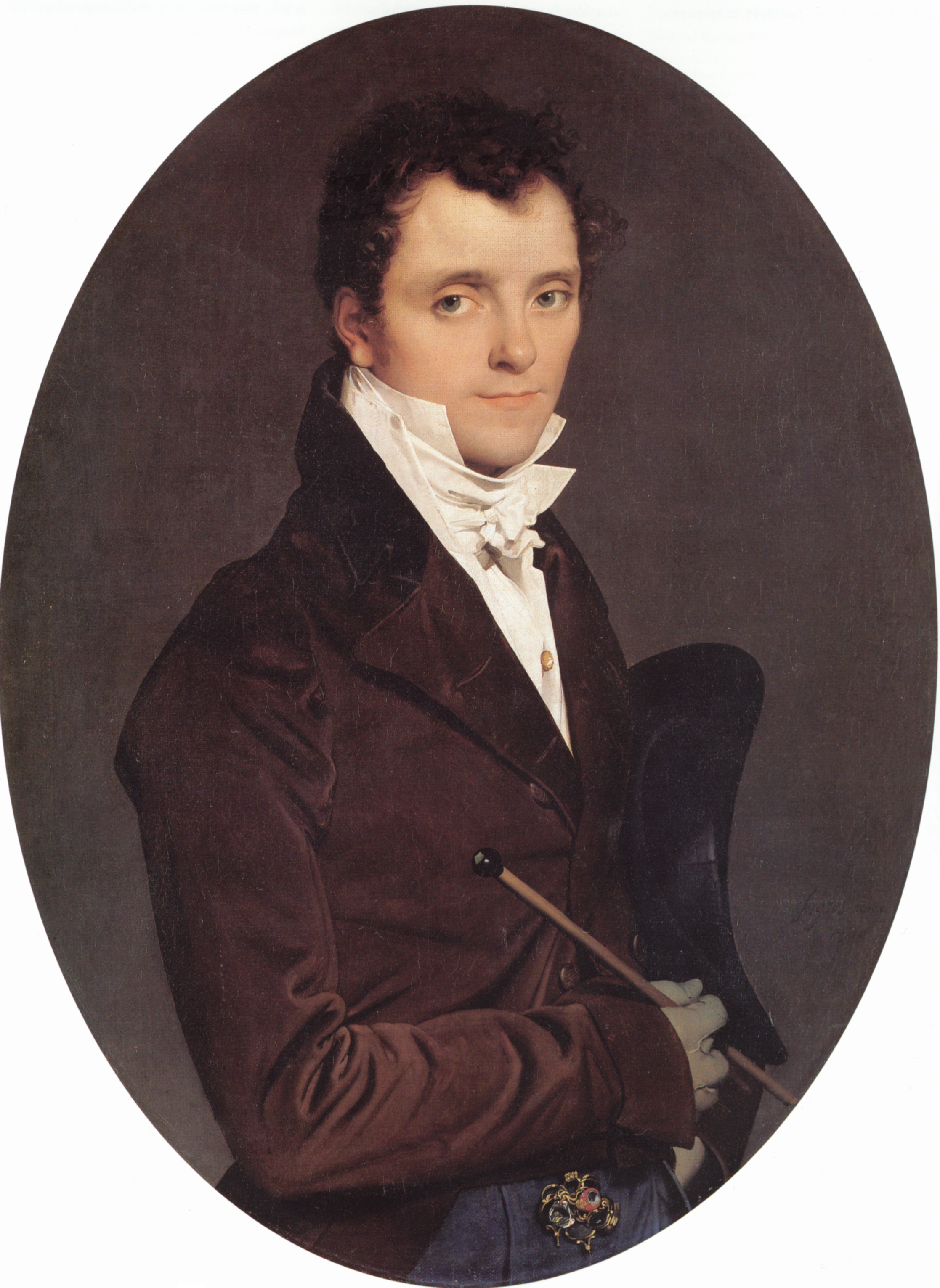 Portrait of Edme Bochet, 1811