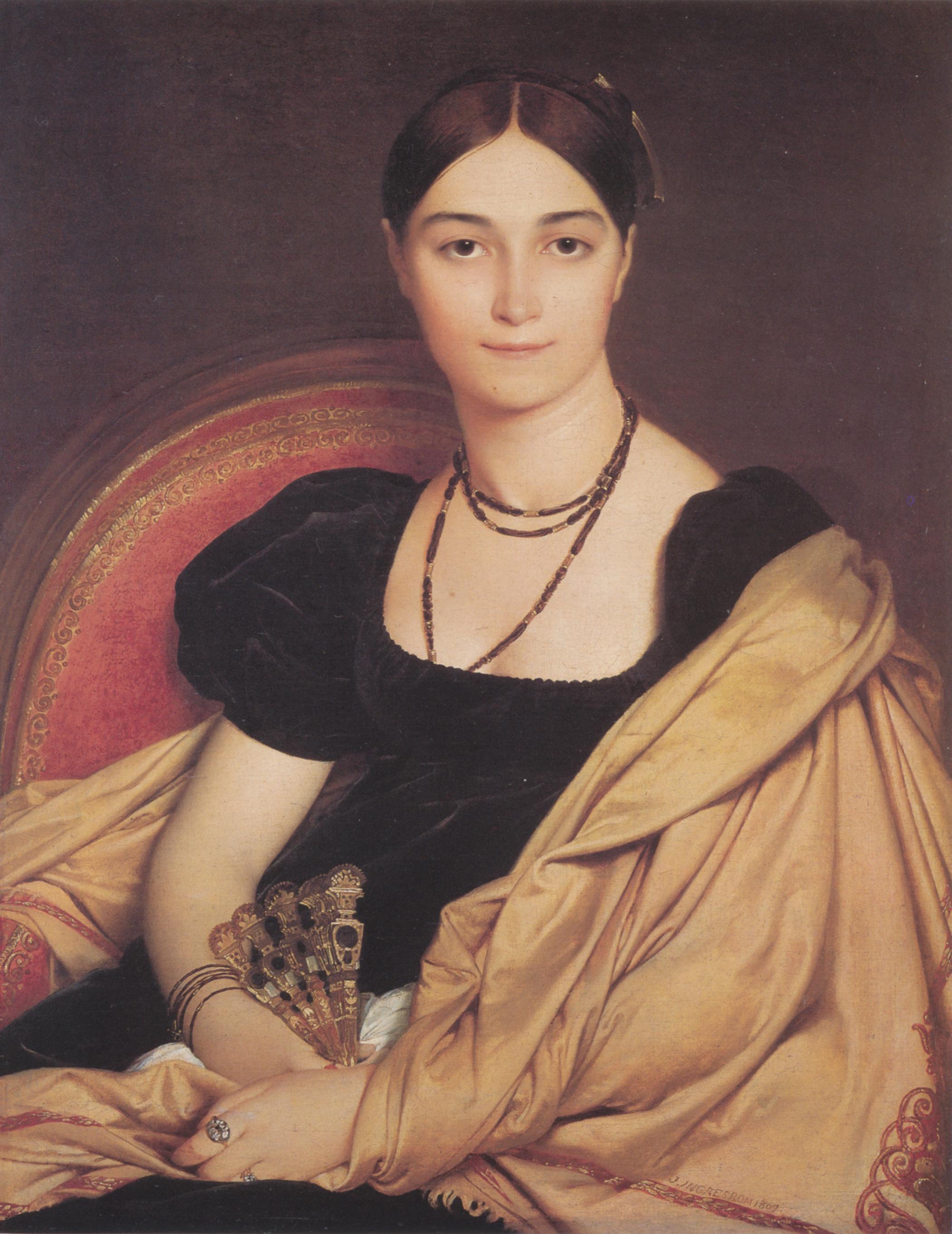 Portrait of Madame Antonia de Vaucay nee de Nittis, 1807
