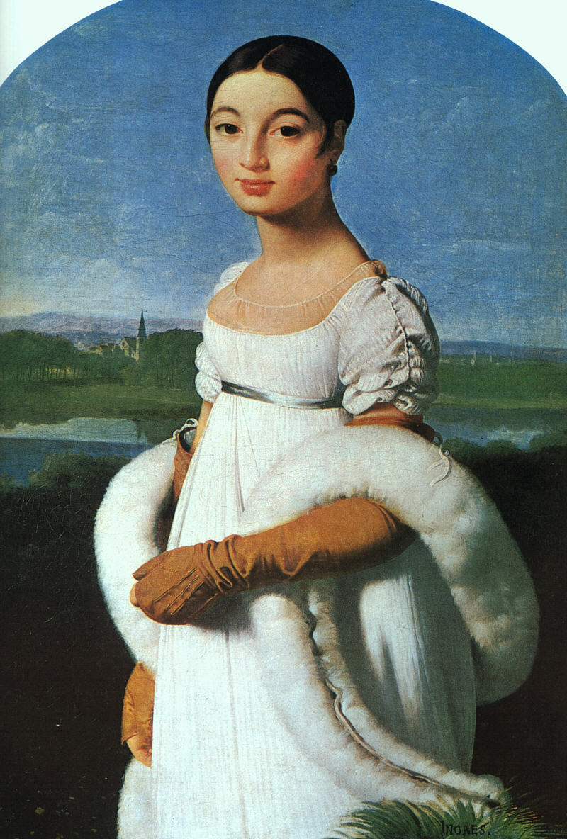 Portrait of Mademoiselle Rivière, 1805