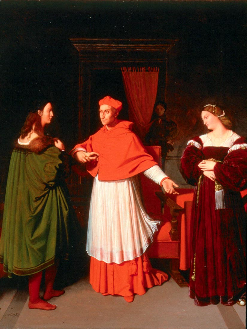 The Betrothal of Raphael and the Niece of Cardinal Bibbiena, 1813-1814