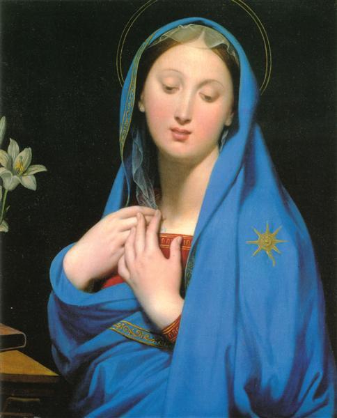 Virgin of the Adoption, 1858 - Jean Auguste Dominique Ingres