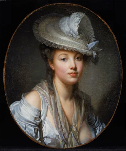 The White Hat, 1780 - Jean-Baptiste Greuze