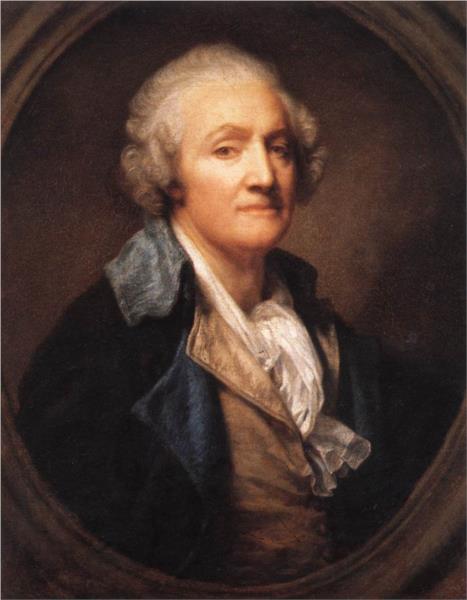 Self-Portrait, 1785 - Жан Батіст Грьоз