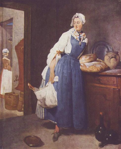 TheBesorgerin, 1739 - Jean-Baptiste-Simeon Chardin