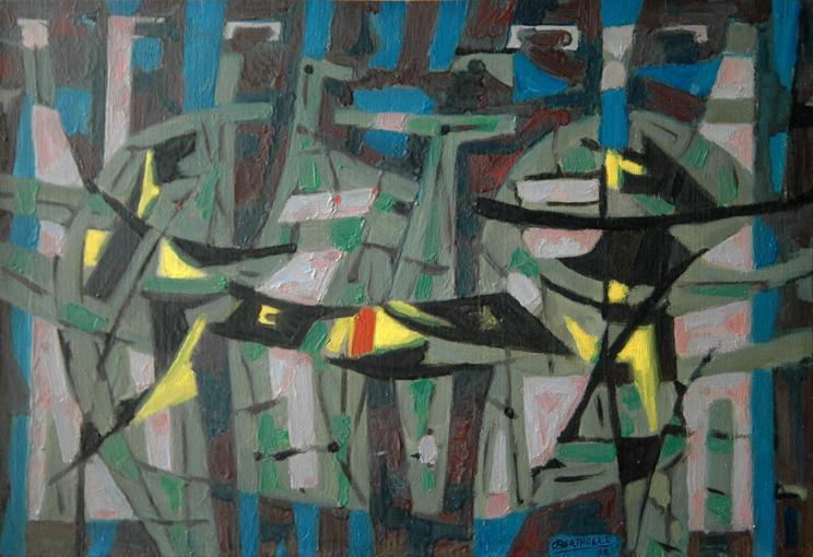 Les sylphes, 1958 - Jean Bertholle