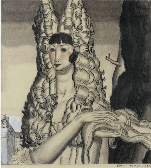 Femme à la coiffe, 1929 - Jean Dupas