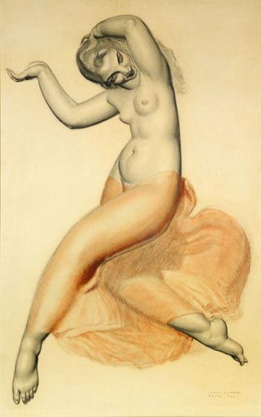 La Danse (Study), 1920 - Jean Dupas