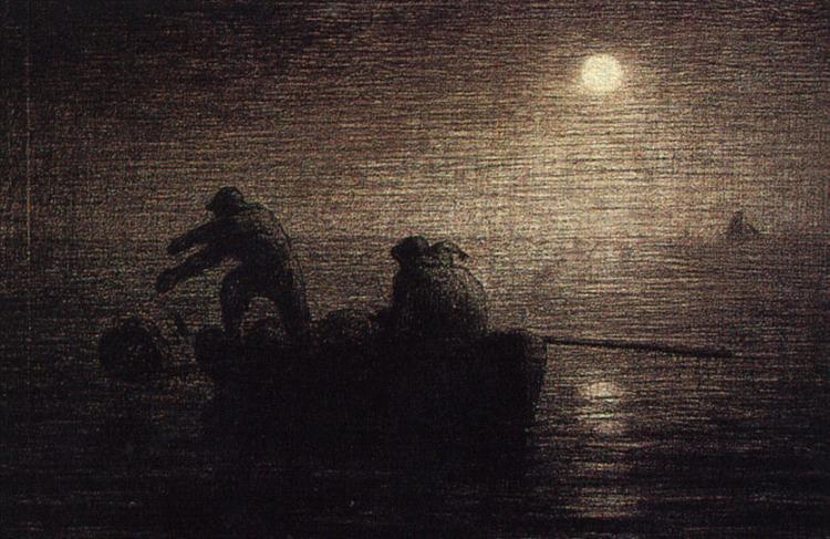 Fishermen - Jean-Francois Millet