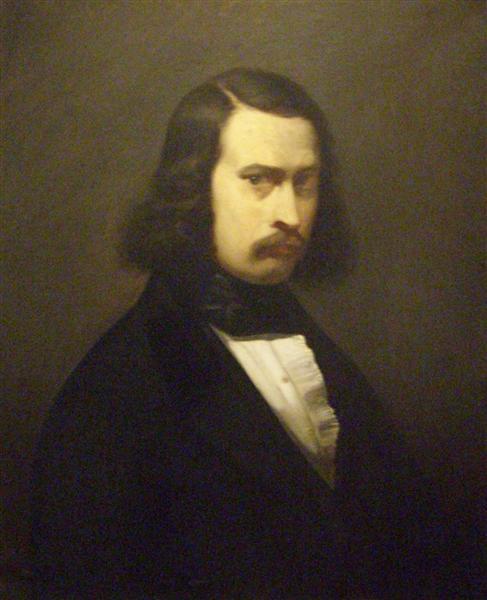 Self-Portrait, 1841 - Jean-Francois Millet