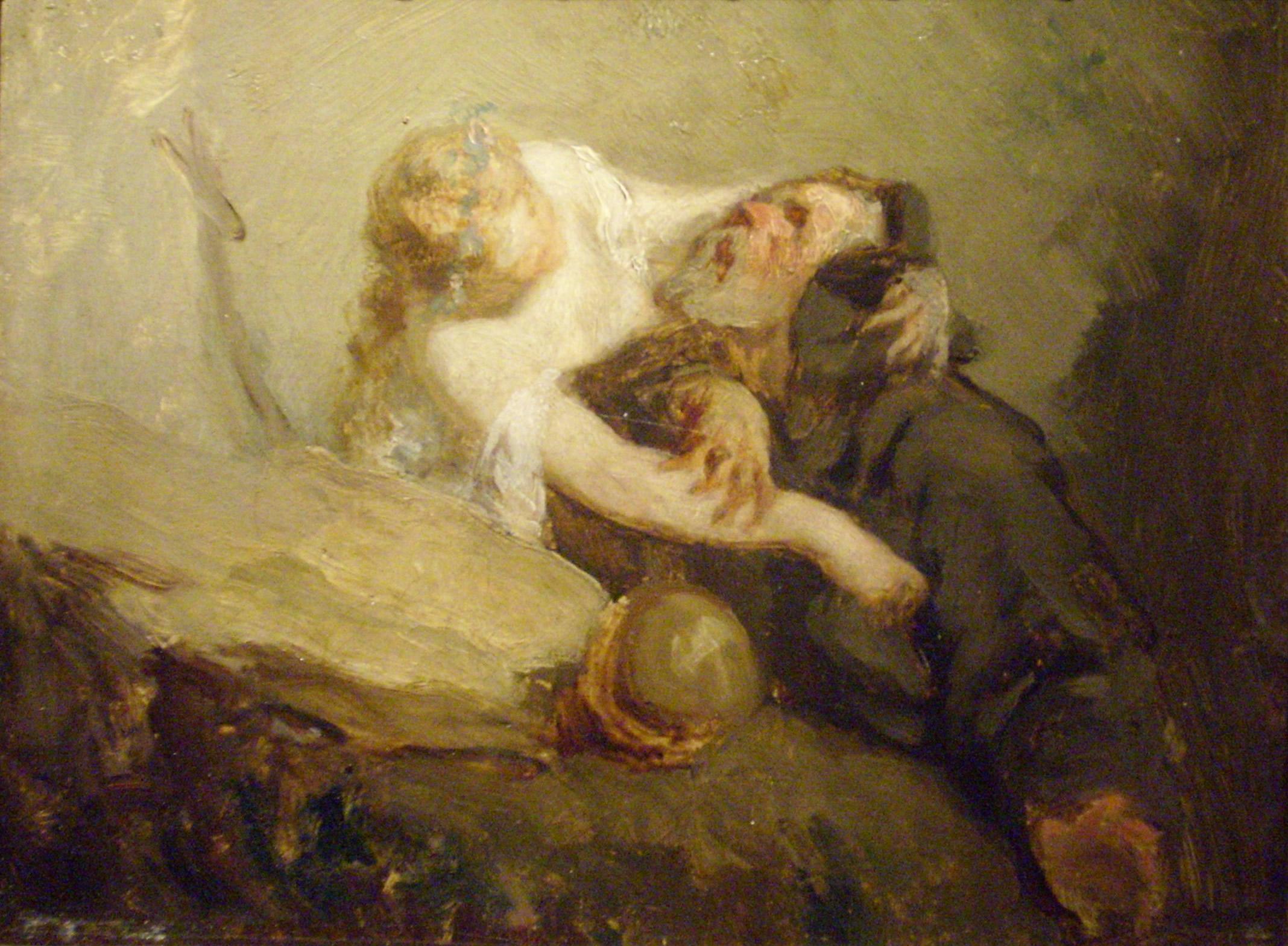 Jean-François Millet  The-temptation-of-st-anthony
