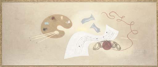 La Peinture et La Musique, 1928 - Jean Hugo