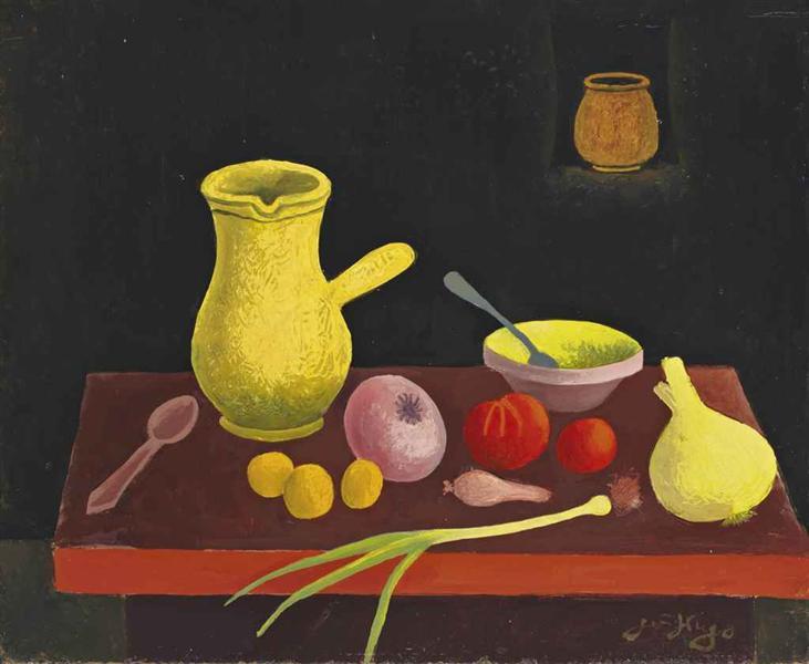 Nature morte aux légumes, 1965 - Jean Hugo