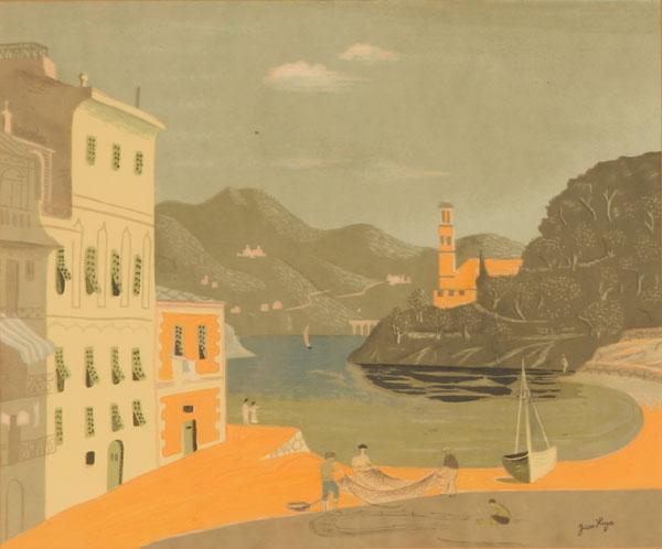 Untitled (European Seaside View) - Jean Hugo