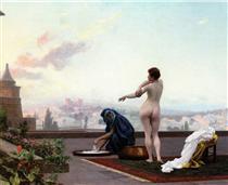 Betsabé - Jean-Léon Gérôme