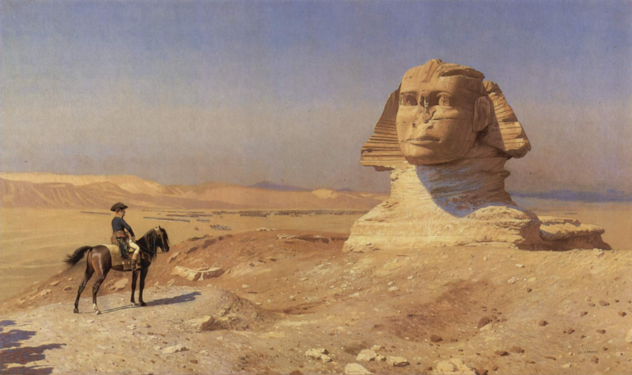 Image result for sphinx in renaissance painting