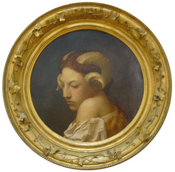 The Bacchante, 1853 - Jean-Leon Gerome