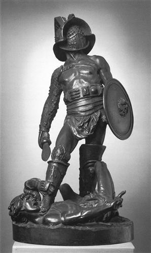 The Gladiators - Jean-Leon Gerome