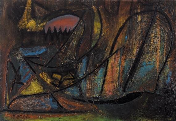 Untitled, 1943 - Жан Мішель Атлан