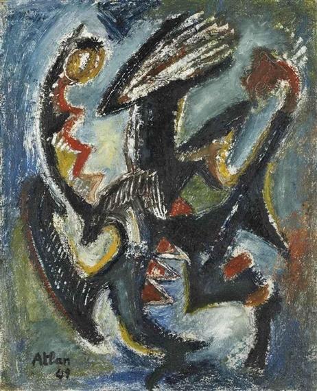 Untitled, 1949 - Jean-Michel Atlan