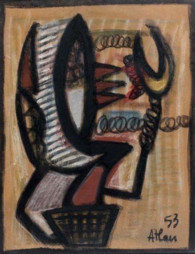 Untitled, 1953 - Jean-Michel Atlan