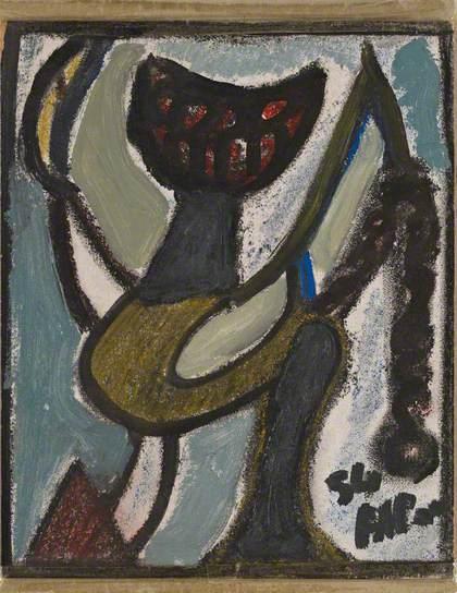 Untitled, 1954 - Жан Мішель Атлан