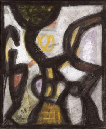 Untitled, 1958 - Jean-Michel Atlan
