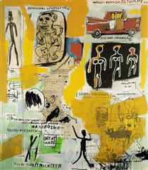 Aboriginal - Jean-Michel Basquiat