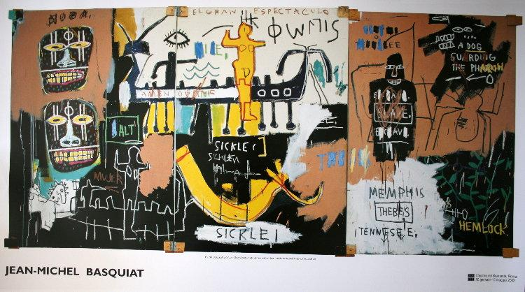 History of the Black People - Jean-Michel Basquiat